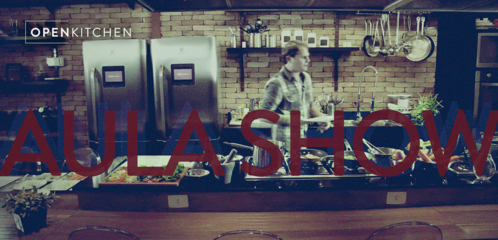 Cozinha em ação.